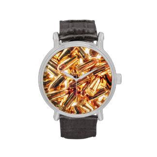 reloj de la munición