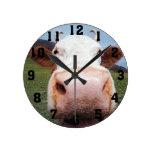 Reloj de la nariz de la vaca