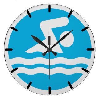 Reloj de la natación