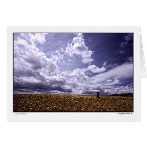Reloj de la nube - California septentrional Tarjeta