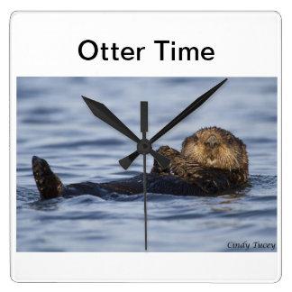 Reloj de la nutria de mar