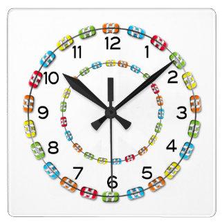 Reloj de la oficina de los apoyos ortodónticos