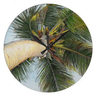 """Reloj de la """"palmera"""" de Paul McGehee"""