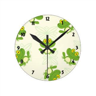 Reloj de la pared de aprendizaje de los niños del