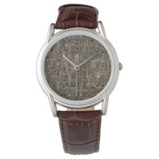 Reloj de la pared de piedra de Detta Aran Geo