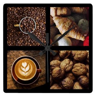 Reloj de la pared del amante del café 1