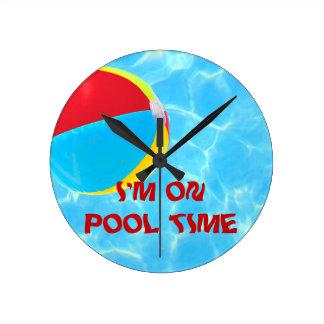 Reloj de la pelota de playa