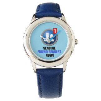 Reloj de la petición del amigo