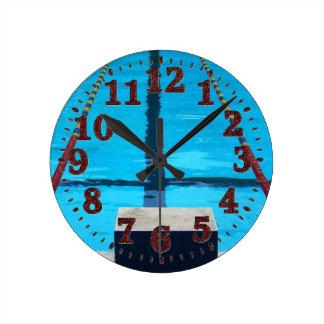 Reloj de la piscina