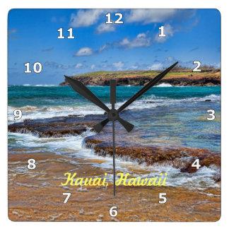 Reloj de la playa de Kauai