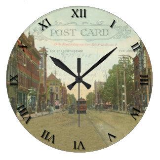 Reloj de la postal de Marion Ohio - St 1908 del
