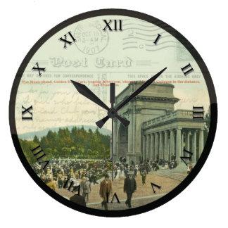 Reloj de la postal - Golden Gate Park, San Francis