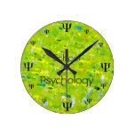Reloj de la psicología   de la escuela del tiempo