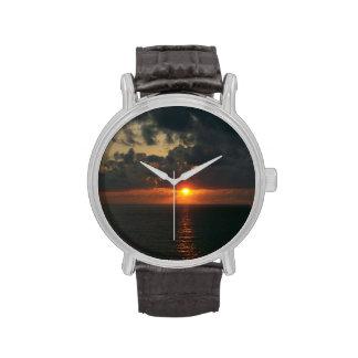 Reloj de la puesta del sol