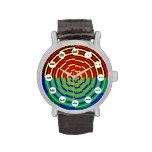 Reloj de la puesta del sol de Digitaces (cara maya
