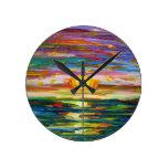 Reloj de la puesta del sol de Suzannes