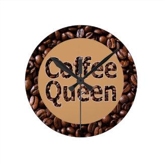Reloj de la reina del café