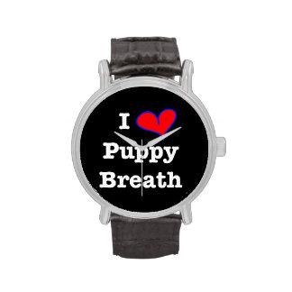 Reloj de la respiración del perrito