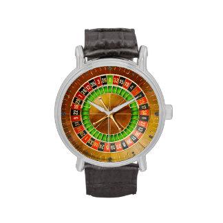 Reloj de la ruleta 1 y opciones del número