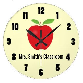 Reloj de la sala de clase con Apple