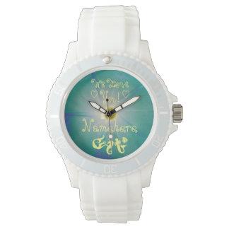 ¡Reloj de la sirena! ¡Elija la correa! ¡AÑADA EL Relojes De Pulsera