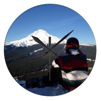 reloj de la snowboard de la capilla del mt