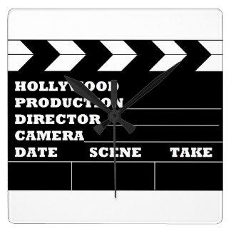 Reloj de la tablilla de Hollywood