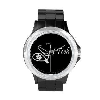 reloj de la tecnología del veterinario