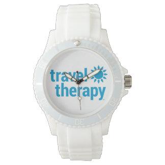 Reloj de la terapia del viaje