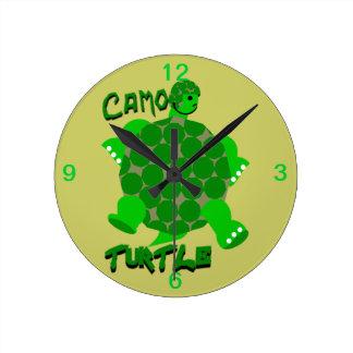 Reloj de la tortuga de Camo