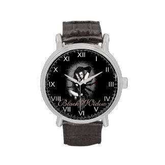 Reloj de la viuda negra