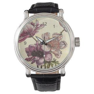 Reloj de las anémonas
