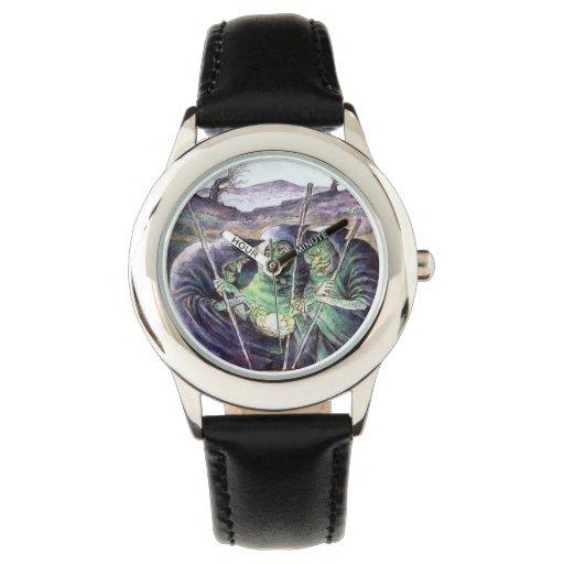 Reloj de las brujas de Macbeth