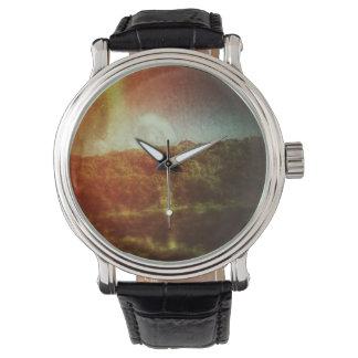 Reloj de las colinas del arco iris