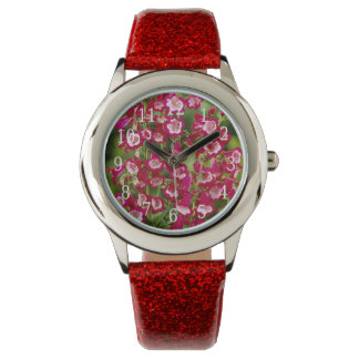 Reloj de las flores de Snapdragon