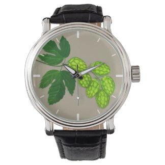 Reloj de las flores del salto