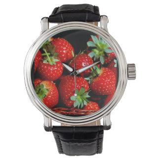 Reloj de las fresas