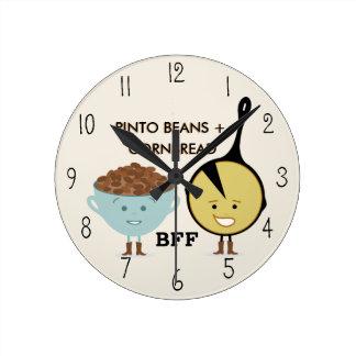 Reloj de las habas de Pinto y de los mejores amigo