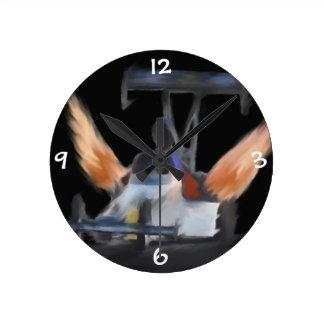 Reloj de las llamas