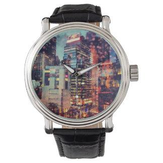Reloj de las luces de NYC