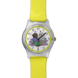 Reloj de las MANOS del ASIMIENTO