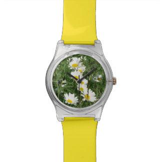 reloj de las margaritas