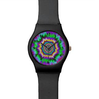 Reloj de las ondas de choque