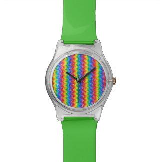 Reloj de las ondulaciones del arco iris