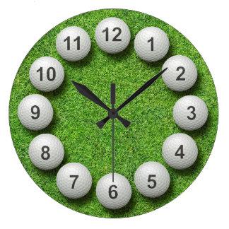 Reloj de las pelotas de golf