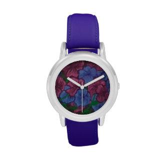 Reloj de las petunias