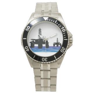 Reloj de las plataformas petroleras