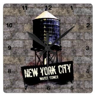 Reloj de las torres de agua de New York City