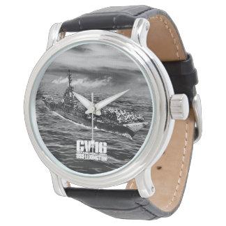 Reloj de Lexington Ewatch de portaaviones