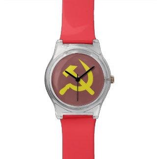 Reloj de los años 80 de Rusia de la madre